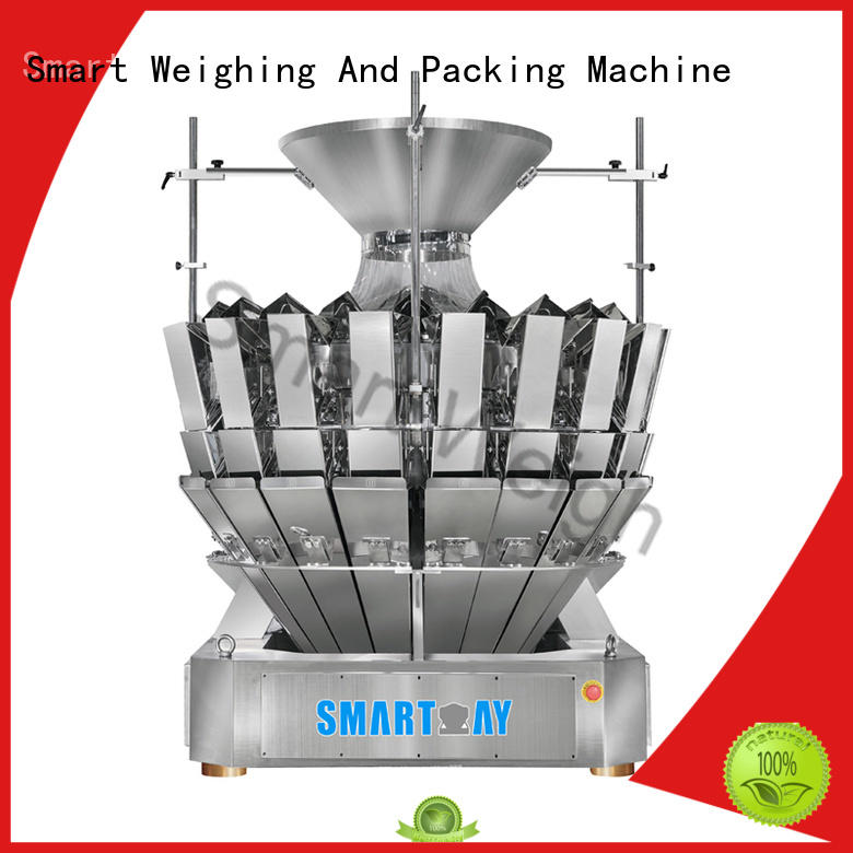 Smart Weigh steady multihead weigher customization for food labeling