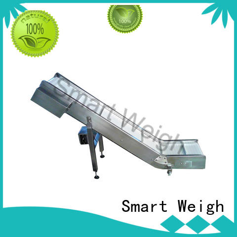 Smart Weigh easy operating inclined bucket conveyor rotary for food packing