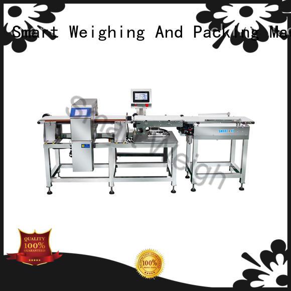 Smart Weigh Brand smart high precision weigh inspection equipment metal