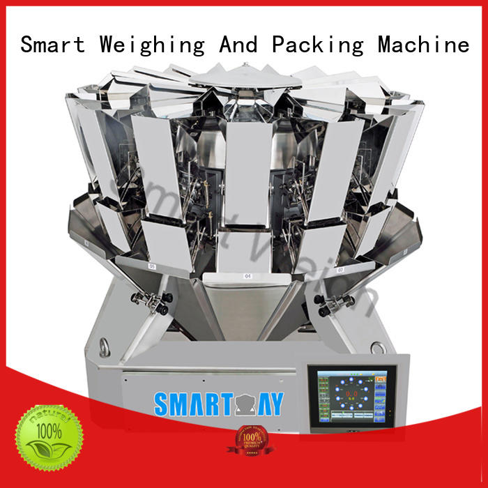 Smart Weigh steady multi head combination weigher accurate for food packing