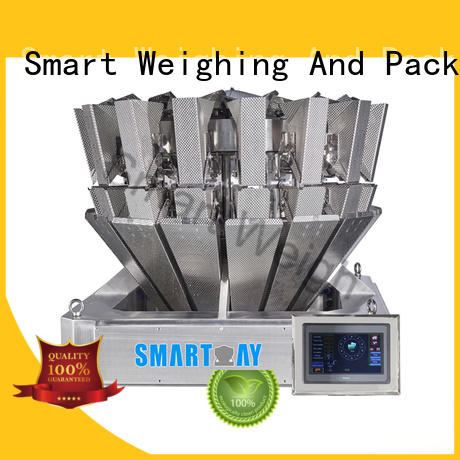 multihead weigher packing machine accurate salad speed Smart Weigh Brand multihead weigher