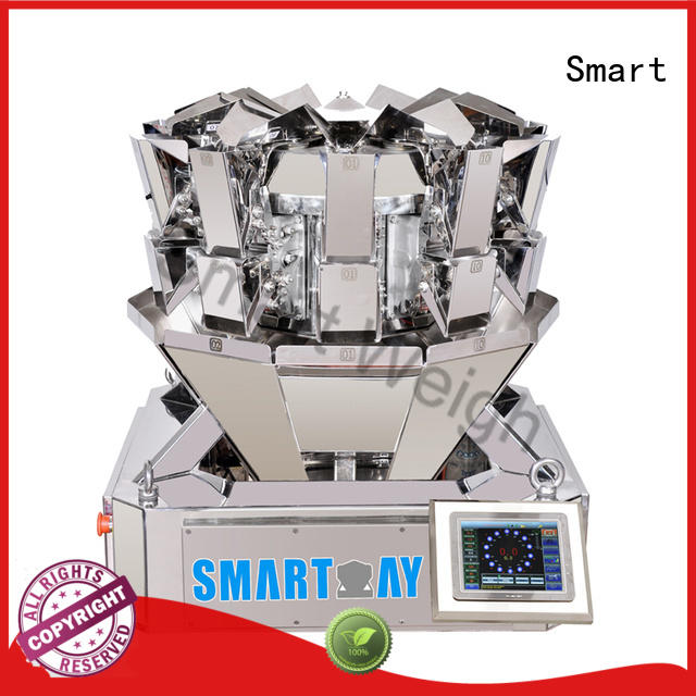 screw multihead weigher discharge Smart company