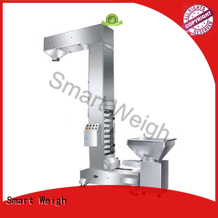 Custom working rotary working platform Smart Weigh conveyor
