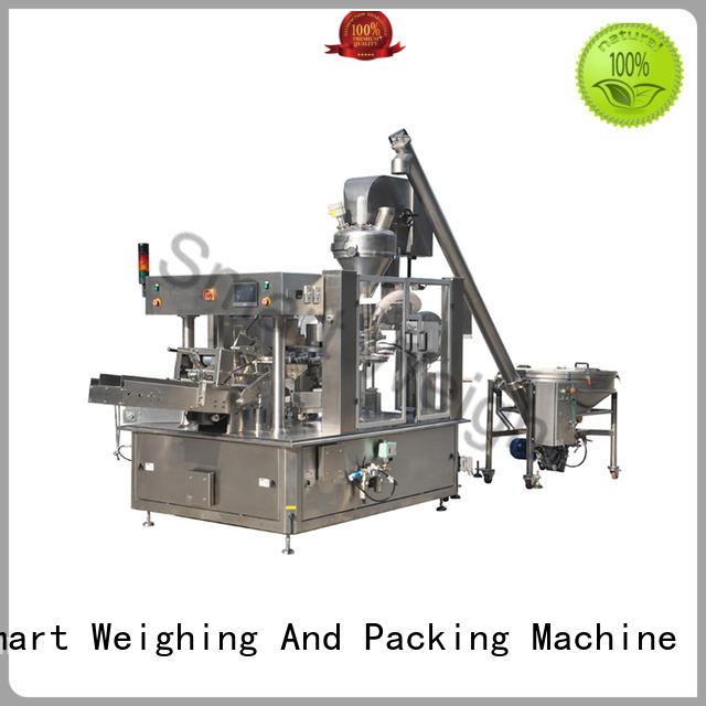 Smart Weigh machine automated packaging systems ltd factory price for foof handling