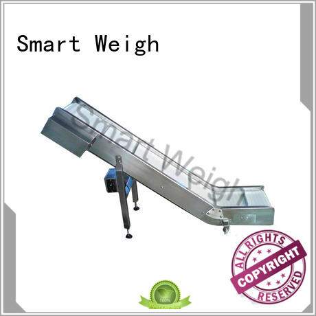 Smart Weigh safety rotating conveyor table with cheap price for food packing