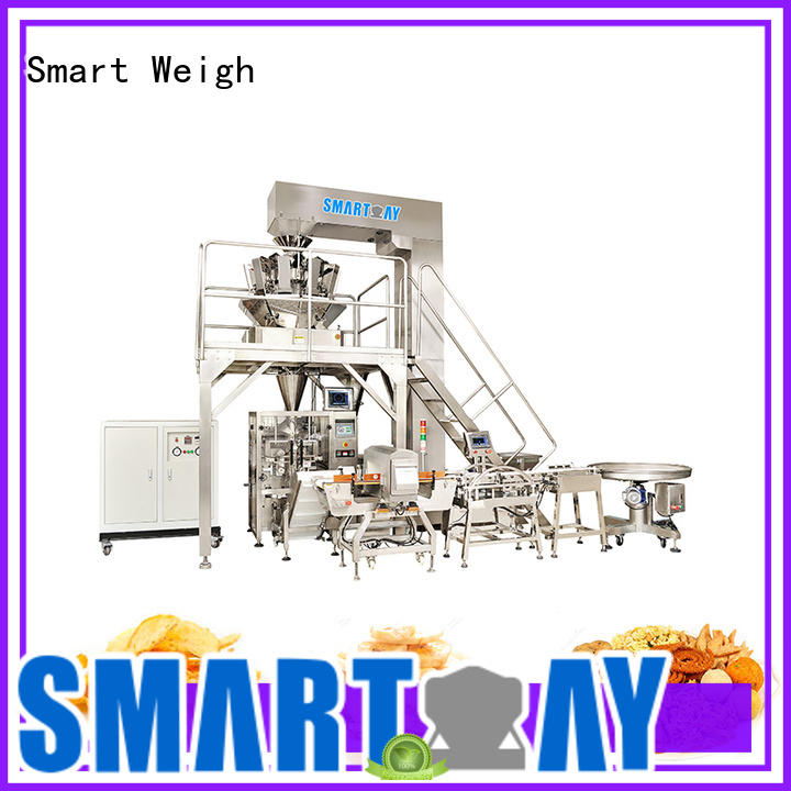 Smart Weigh accurate auto bagging system China manufacturer for food packing